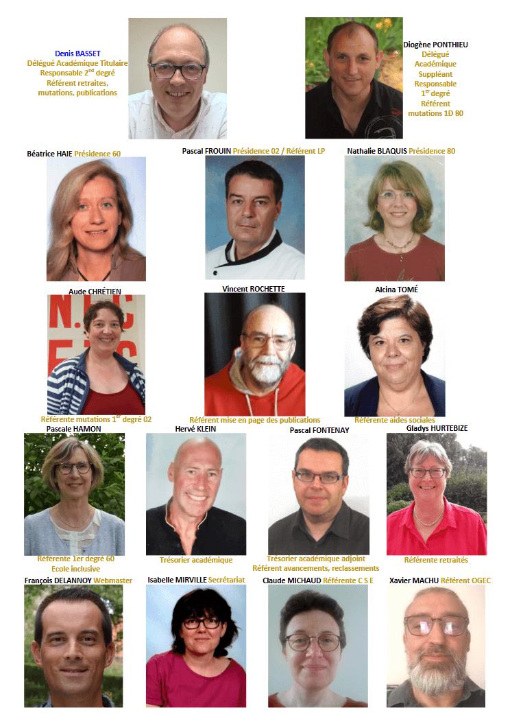 Equipe Snec-CFTC Picardie